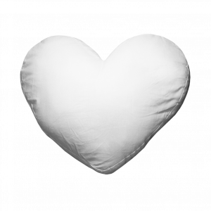 Kissenhuelle Herz Polyester
